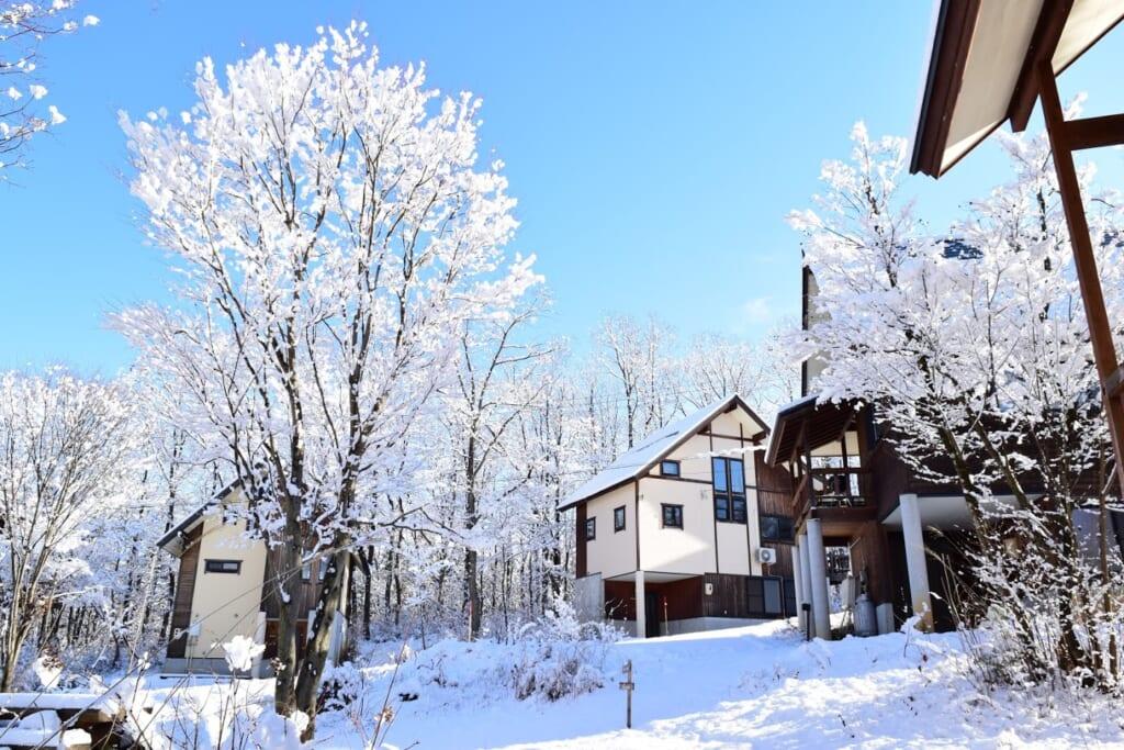 こんなときだから貸別荘(コテージ)で泊まって「TAKASU MOUNTAINS」へ イメージ