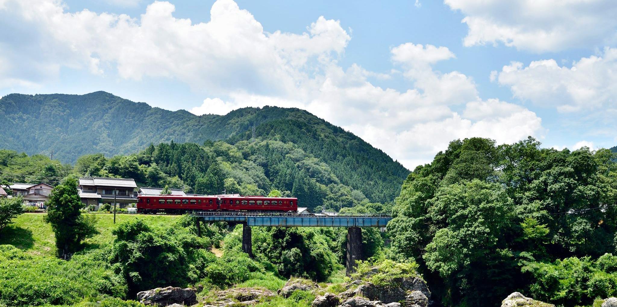 ワンマン列車長良川鉄道